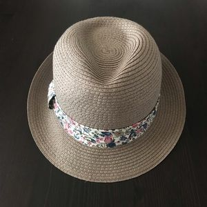 Accessories - Fedora Hat with Flower Band